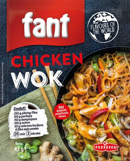 Chicken wok